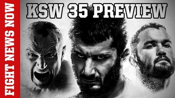 KSW 35: Khalidov vs. Karaoglu LIVE Friday at 2 p.m. ET on Fight Network