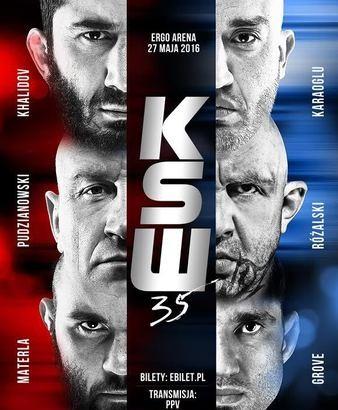Quick Shots – KSW 35: Mamed Khalidov Wins Close Decision, Marcin Rozalski Taps Mariusz Pudzianowski