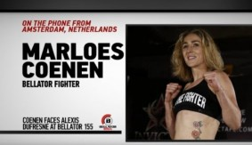 Marloes Coenen on Bellator 155 Bout vs. Alexis Dufresne, Short-Notice Opponent & More