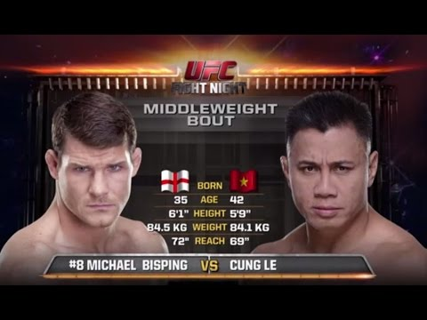 Michael Bisping Beats Down Cung Le at UFC Fight Night Macao