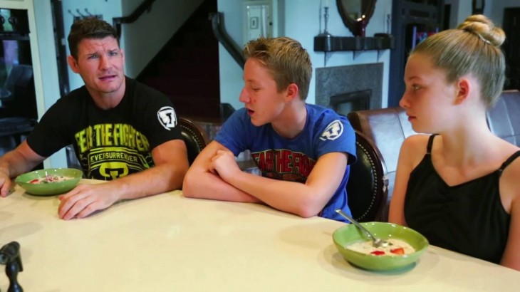 Michael Bisping on Being an MMA Dad; Training with Son Callum