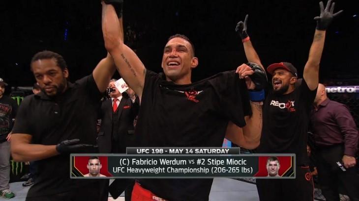 Rashad Evans & Tyron Woodley Preview UFC 198: Fabricio Werdum vs. Stipe Miocic & Jacare Souza vs. Vitor Belfort