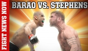 Rick Story vs. Tarec Saffiedine Still On, Jeremy Stephens vs. Renan Barao Preview on Fight News Now
