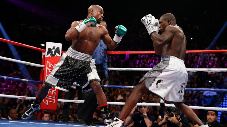 Round 6 of Floyd Mayweather vs. Andre Berto – Wizardry in Mayweather's Last Bout