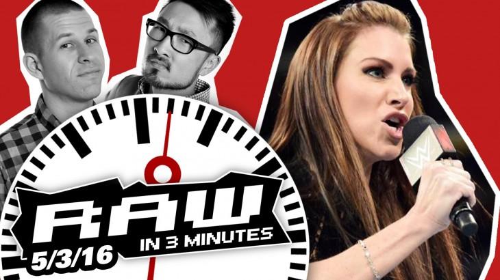 "Stephanie & Shane McMahon's ""New Era"" Begins | WWE RAW in 3MIN 5/3/16"