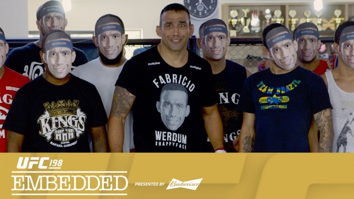 UFC 198 Embedded: Vlog Series Episode 1 – Fabricio Werdum's Friends in High Places