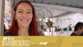UFC 198 Embedded: Vlog Series Episode 3 – Fabricio Werdum & Leslie Smith Taking in the Food Culture