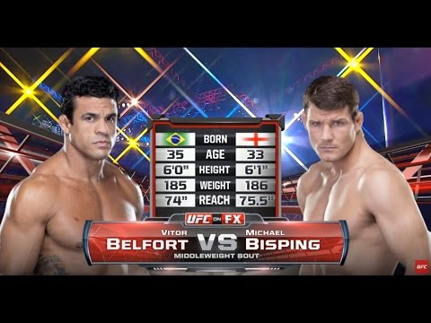 UFC 198 Free Fight: Vitor Belfort Head Kicks Michael Bisping