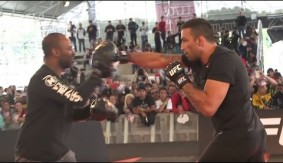 "UFC 198: Highlights From the Open Workouts – ""The Fans Make The Fighters"""