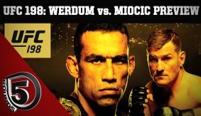 UFC 198 Preview: Fabricio Werdum vs. Stipe Miocic, Cris Cyborg's Debut, Demian Maia vs. Matt Brown on 5 Rounds