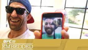 UFC 199 Embedded: Vlog Series Episode 2 – Setting the Tone at UFC Fight Night Las Vegas