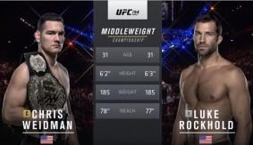 UFC 199 Free Fight: Chris Weidman vs. Luke Rockhold