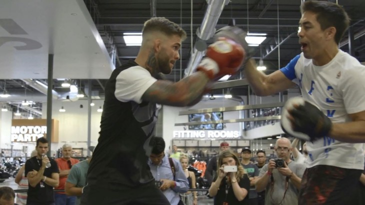 "UFC Fight Night Las Vegas: Open Workout Highlights – ""No Different Than Getting Pushed Down on the Playground"""