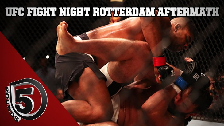 UFC Fight Night Rotterdam Fallout: Alistair Overeem, Stefan Struve & Gunnar Nelson Finish on 5 Rounds