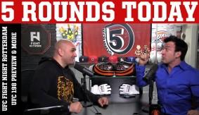 UFC Fight Night Rotterdam Preview: Overeem vs. Arlovski, Glance at UFC 198 on 5 Rounds Today