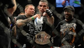 UFC Flashback: Fabricio Werdum Claims Interim UFC Heavyweight Title at UFC 180 vs. Mark Hunt