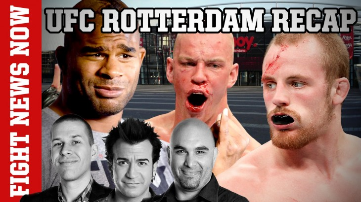 UFC Rotterdam Aftermath: Alistair Overeem, Stefan Struve & Gunnar Nelson Win Big on Fight News Now