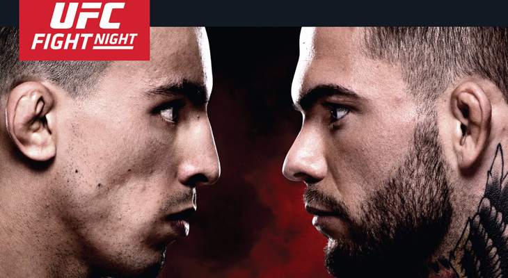 UFC Fight Night Las Vegas Weigh-ins, Prelims, Pre & Post-Show on Fight Network Canada. Check your local listings.