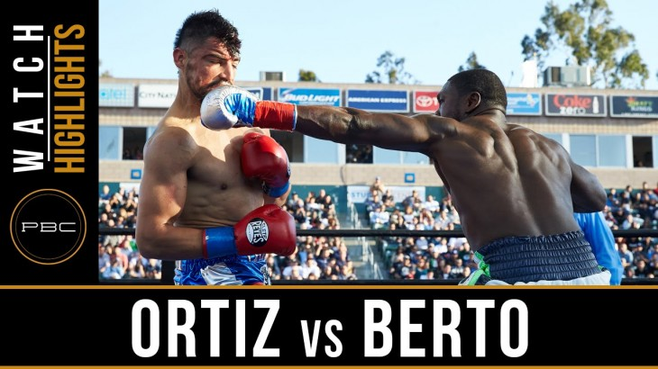 Video Highlights – PBC on FOX: Andre Berto Knocks Out Victor Ortiz, Lara Crushes Montiel & More