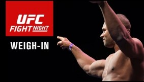 Video Replay – UFC Fight Night Rotterdam: Official Weigh-in