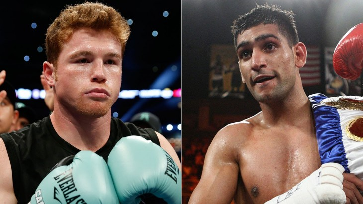 Watch LIVE Fri. at 5:30 p.m. ET – Canelo Alvarez vs. Amir Khan Official Weigh-in