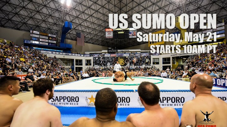 Watch LIVE Saturday, May 21 at 1 p.m. ET – 2016 U.S. Sumo Open