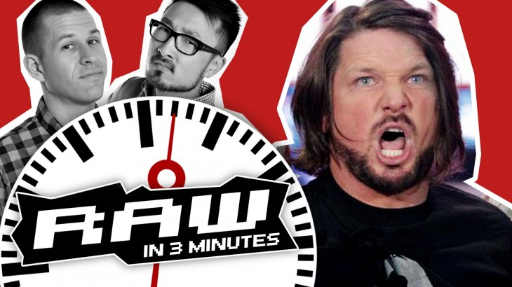 WWE RAW in 3 MINUTES 5/16/16 | AJ Styles & The Club vs. Roman Reigns & The Usos