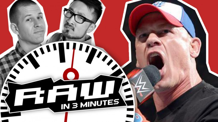 WWE RAW in 3 MINUTES 5/30/16 | John Cena Returns, AJ Styles Heel Turn