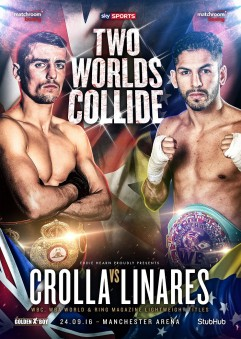 Boxing_Poster_MatchroomBoxing_WBALightweightTitle_AnthonyCrolla_JorgeLinares_2016_092416