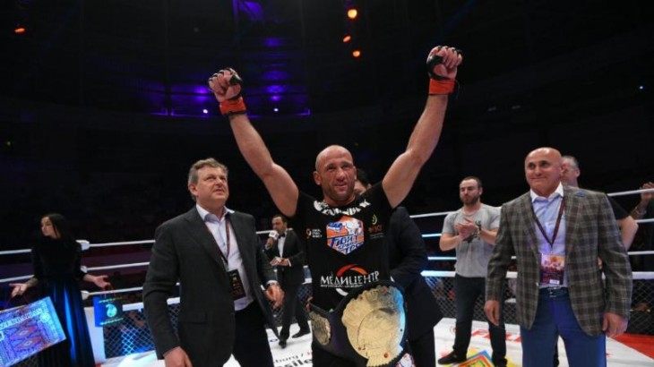 Full Report & Photos – Alexander Butenko Claims Vacant Lightweight Title at M-1 Challenge 67