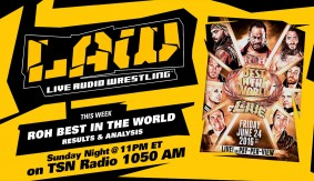 Listen to The LAW at 11pm ET – ROH Best in the World, Dave Meltzer & more
