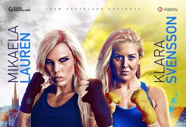 """Mikaela Lauren vs. Klara Svensson Set For WBC Female WW Eliminator on Sept 10 – """"It's No Secret We Don't Like Each Other"""""""