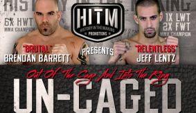 MMA Vets Brendan Barrett, Jeff Lentz Top Boxing Card on June 4 at Frankie Edgar's Old High School