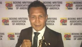 Francisco Vargas Receives BWAA Muhammad Ali-Joe Frazier 'Fight of The Year' Award for Bout vs. Takashi Miura