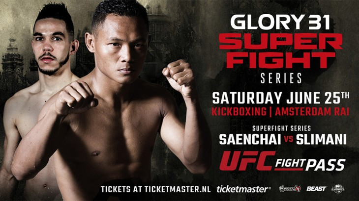 Muay Thai Legend Saenchai Signs with GLORY; Debuts at GLORY 31 SuperFight Series on June 25