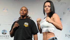 Broadway Boxing: Hinojosa vs. Rosa & Gladney vs. Salinas Weigh-in Results & Photos