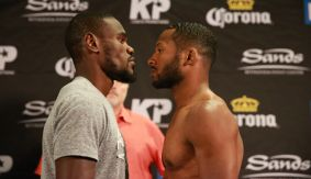 PBC on FS1: Cherry vs. Rhodes Weigh-in Results & Photos