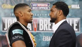 "Anthony Joshua to Dominic Breazeale: ""You're in My Jungle Now. One of Us Has to Take a Loss"""