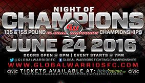 Global Warriors 3 – Another Coveted Opportunity for Vadnais