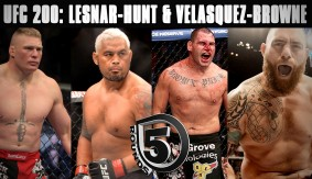 Brock Lesnar vs. Mark Hunt & Cain Velasquez vs. Travis Browne Preview Ahead of UFC 200 on 5 Rounds