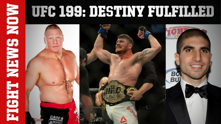 Brock Lesnar vs. Mark Hunt at UFC 200, Michael Bisping Claims Title, Ariel Helwani vs. UFC on Fight News Now