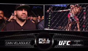 "Cain Velasquez & Luke Rockhold on ""Full Blast"" for Daniel Cormier vs. Jon Jones 1 at UFC 182"