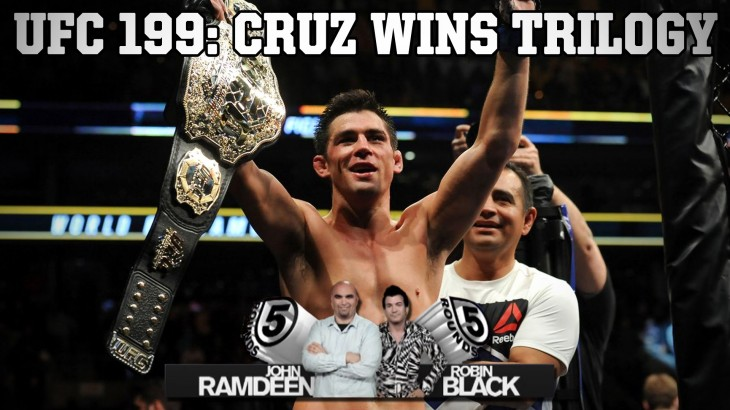 Dominick Cruz Takes Trilogy Against Urijah Faber on 5 Rounds