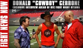 "Donald ""Cowboy"" Cerrone Discusses Motivations Ahead of UFC Fight Night Ottawa on Fight News Now"
