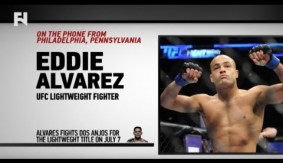 "Eddie Alvarez Talks Lightweight Title Shot at UFC Fight Night Las Vegas LIVE on FN – ""I've Been Excited and Rejuvenated"""