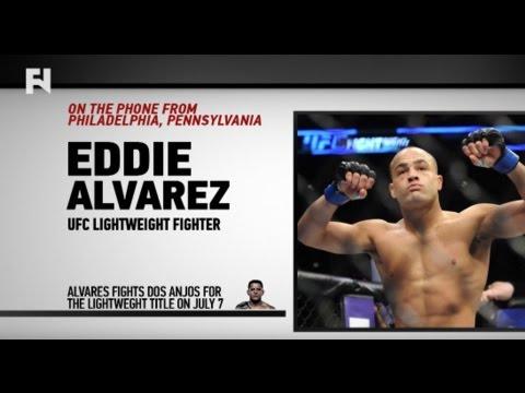 "Eddie Alvarez Talks Lightweight Title Shot at UFC Fight Night Las Vegas LIVE on FN – ""I've Been Excited and Rejuvenated"""