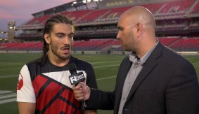 Elias Theodorou UFC Fight Night Ottawa Post-Fight Interview