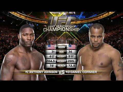 Full Fight – Anthony Johnson vs. Daniel Cormier from UFC 187