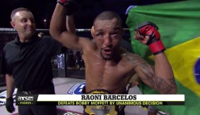 Full Report & Video Highlights – Raoni Barcelos Retains Title With Decision Over Bobby Moffett at RFA 39