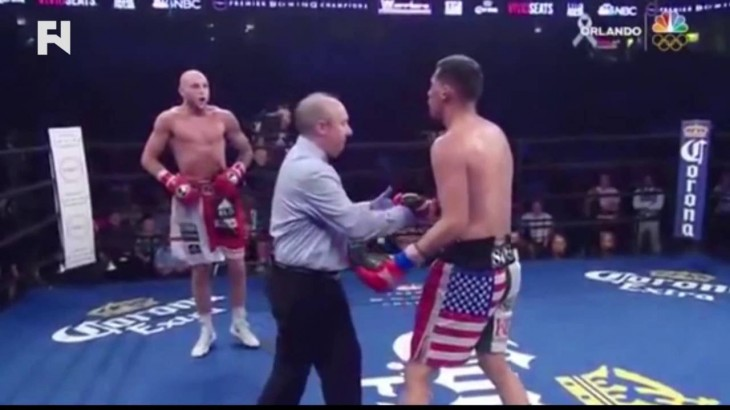 Gabe's Video of the Week – Referee With Granite Chin on MMA Meltdown